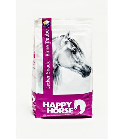 Happy Horse Lecker-Snacks Birne Traube