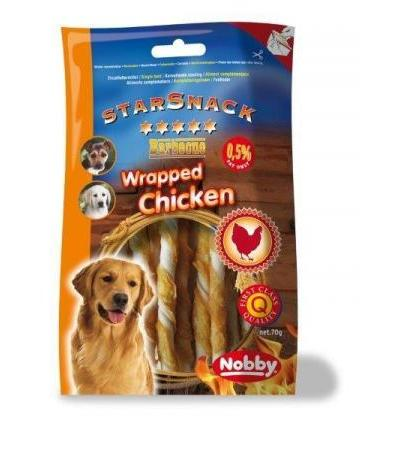 Nobby StarSnack Barbecue Wrapped Chicken 70 g