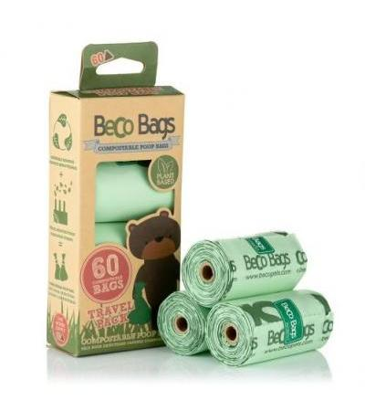 COMPOSTABLE UNSCENTED POOP 60 BAGS