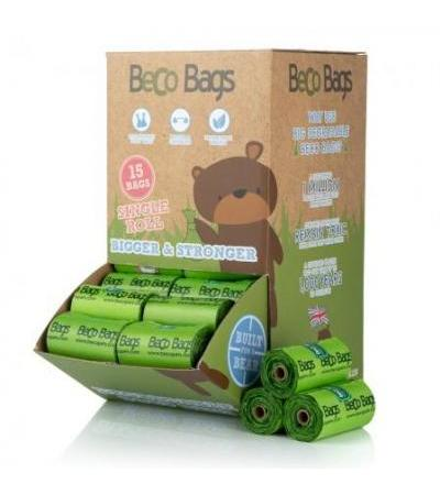 960 UNSCENTED DEGRADABLE POOP BAGS