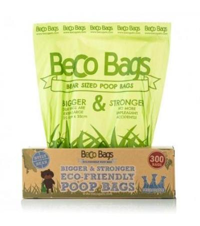 300 UNSCENTED DEGRADABLE POOP BAGS