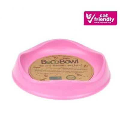 BAMBOO CAT BOWL Pink