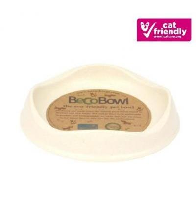 BAMBOO CAT BOWL Beige
