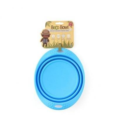 Collapsible Travel Bowl L Blue