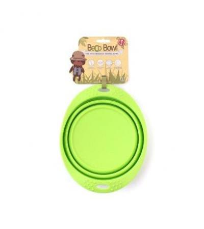 Collapsible Travel Bowl L Geen