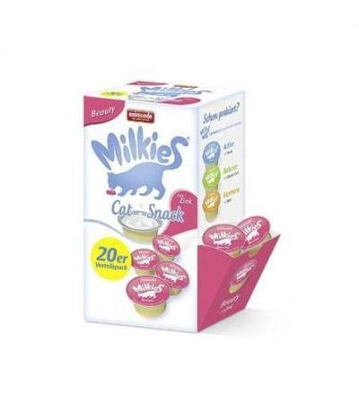 Animonda Cat Snack Milkie Beauty mit Zink 20 x 15g